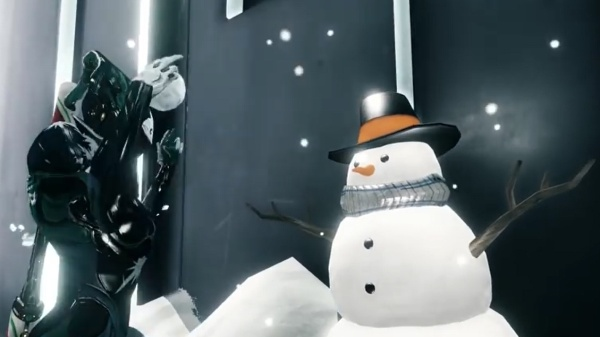 Weltraum Ninjas bei Warframe im Winter Alarm